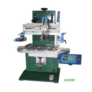 Flat Screen Printer with Conveyer (S-81110F)