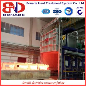 Car Type Gas Heat Treatment Furnace with Regenerative Burner with pictures & photos
