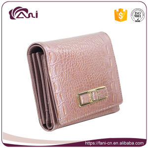 04cd1030d95 China Fancy Ladies Purse, Pink Genuine Leather Lady Wallet Small ...