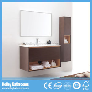 High Quality MDF Wall Mounted Bathroom Accessory with Side Cabinet (BF372D)