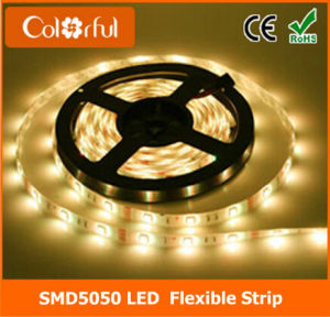 Ce/RoHS High Lumens DC12V SMD5050 LED Strip pictures & photos
