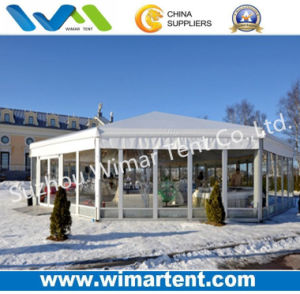 Diameter 20m Hexagonal Tent with Decoration for Festival Party