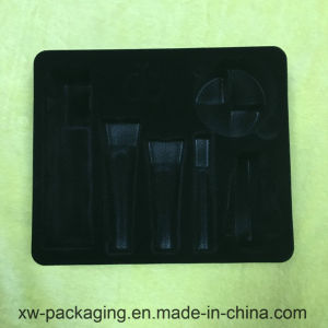 Flocking Blister Tray for cosmetic Plastic Packaging