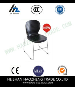 Hzpc108 Electroplating Bow Foot Plastic Chair