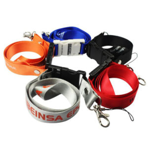 Popular Sublimation Neck Strap 256MB 500 MB-64GB USB Lanyard Flash Drive Lot pictures & photos