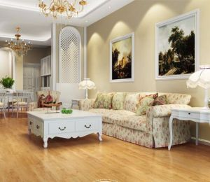 Fireproof Unilin Click PVC Vinyl Flooring for Oman/Qatar/Saudi Arabia pictures & photos