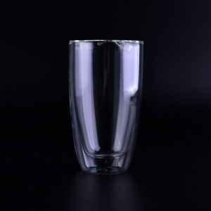 Double Wall Glass Cup for Tea, Coffee and Tea pictures & photos