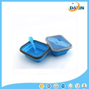 China Eco Silicone Collapsible Lunch Box Food Container China