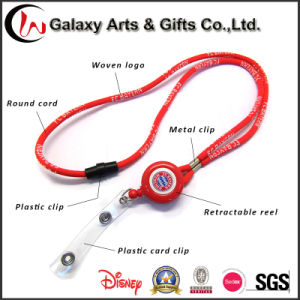 Multifunction Card Holder Custom Lanyard with Retractable Reel