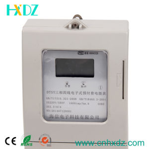 Single Phase Electronic Type Prepaid Watt-Hour Meter pictures & photos