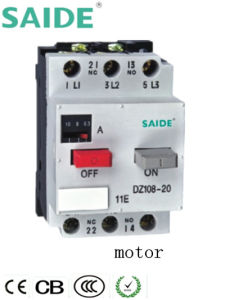 3 Poles MPCB Motor Protection Circuit Breaker (DZ108) pictures & photos
