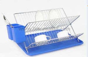 Kitchen Metal Wire Dish Drainer Rack No. Dra06 pictures & photos