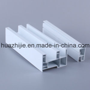 Good Quality Solid Flexible Coextrusion UPVC Plastic PVC Profile