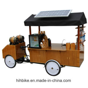 Large Size OEM Coffee Cart Bike with High Power pictures & photos