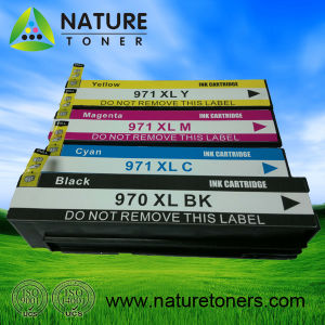 Compatible Ink Cartridge 970xl Bk, 971xlc/M/Y for HP X451, X476, X551, X576 Printer pictures & photos