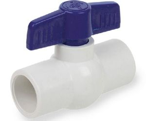 Pure New Material PVC Ball Valve Grey PVC Valve pictures & photos