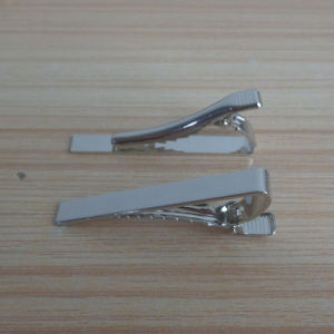 High Quality Silver Simple Plain Tie Clip pictures & photos