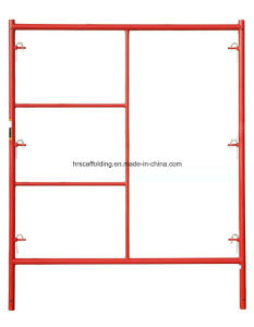 Walk Through H Frame System Powder Coated Scaffolding pictures & photos