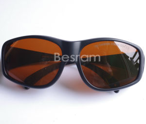Od4+ CE 190-540nm 900-1700nm UV Green Laser Protection Glasses