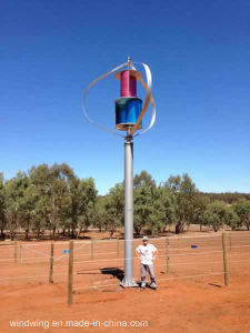 5kw Vertical Axis Wind Turbine with Maglev Generator pictures & photos