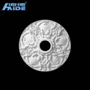 Good Quality White PU Ceiling Foam New Design Ceiling Medallion pictures & photos