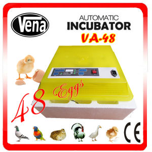 Best Price Full Automatic Transport 48 Chicken Egg Incubator for Sale pictures & photos