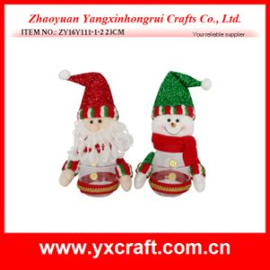 Christmas Decoration (ZY16Y111-1-2 23CM) Christmas Santa Nesting Doll Christmas pictures & photos