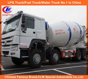 Heavy Duty Sino Truck HOWO Cement Mixer Trucks 12cbm pictures & photos