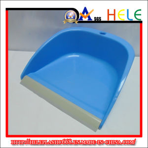 Round Dustpan with Rubber