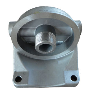 Aluminum Die Casting Oil Filter Base (ADC-05) pictures & photos