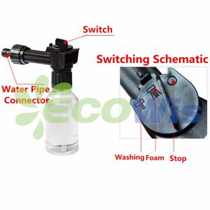 Car Cleaner High Pressure Water Pipe Gun Foam Sprayer pictures & photos