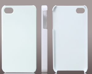 photograph about Printable Phone Case named 3D Sublimation White Colour Printable Blank Cellphone Situation for Sublimation Unit