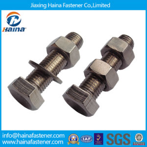 Stainless Steel Ss304 Ss 316 Hex Bolts and Nuts Zinc Plated Thread Bolt Hot DIP Galvanized 4.8 8.8 Hex Nut & Bolt (DIN933 AND DIN934) pictures & photos