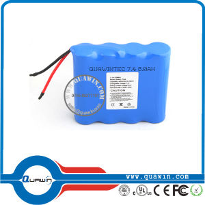 7.4V 6000mAh Li-ion 18650 Rechargerable Battery pictures & photos