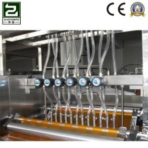 Fully Automatic Wine Four Side Sealing and Multi-Line Packing Machine pictures & photos
