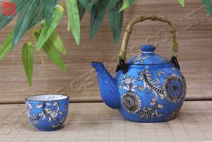 Tableware Ceramic /Dinnerware Porcelain Teapot Dinner Set (TP-58m)