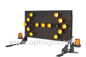 Vehicle Mounted LED Warning Light Road Safety Arrow Board pictures & photos