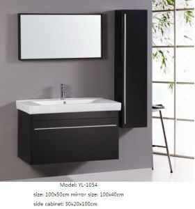 Wall Mounted Bathroom Furniture with Ceramic Basin