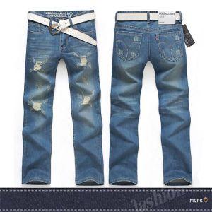 China Wholesale Price New Fashion Denim Pants Man Designer Hot