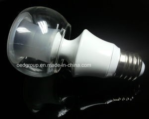 E14 B22 E27 6W LED Bulb White Housing pictures & photos