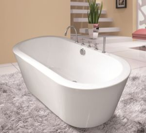 1700X800X600mm Freestanding Seamless Acrylic Bathtub
