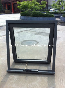 Australia Standard Aluminum Awning Window with Double Glazing (CL-1027)
