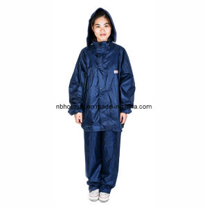 High Quality Split Raincoat, Rain Pants, Set Motorcycle Electric Ride Bicycle Fission Raincoat Poncho Rainwear Coat Slicker (NBHN-08)