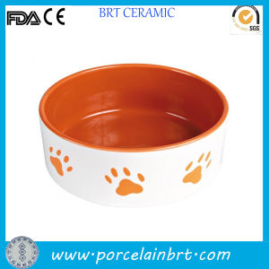 Custom Printing Cute Porcelain Cat Dog Bowl pictures & photos