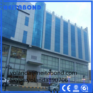 PVDF Nano Surface Exterior ACP for Curtain Wall pictures & photos