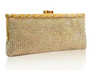 Mesh Crystal Evening Bag (EB3283) Crystal Clutch Bags