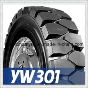 Good Traction Solid Forklift Tire (15X4.5-8) pictures & photos