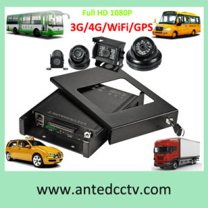 HD 1080P 4/8CH Vehicle CCTV DVR Systems with Mobile DVR and Camera for Bus, Truck, Taxi, Car, Automotive pictures & photos