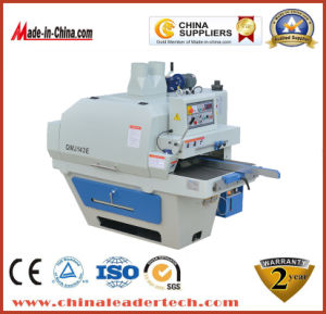 High Precision Heavy Duty Automatic Multi-Blades Rip Saw pictures & photos