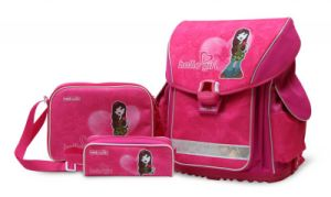 School Bag Set (C5517-pink)